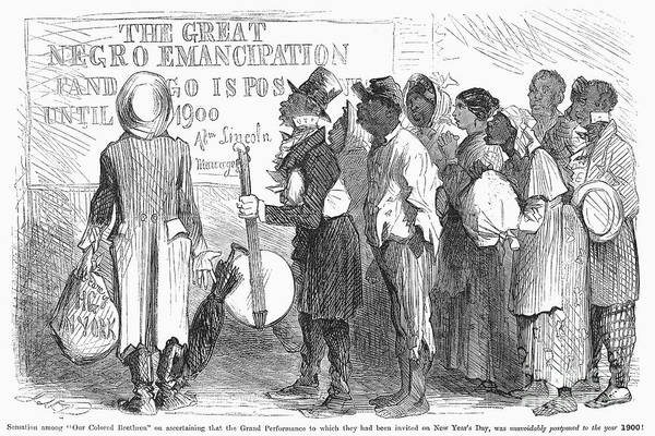 1862 Poster featuring the photograph Emancipation Proclamation by Granger