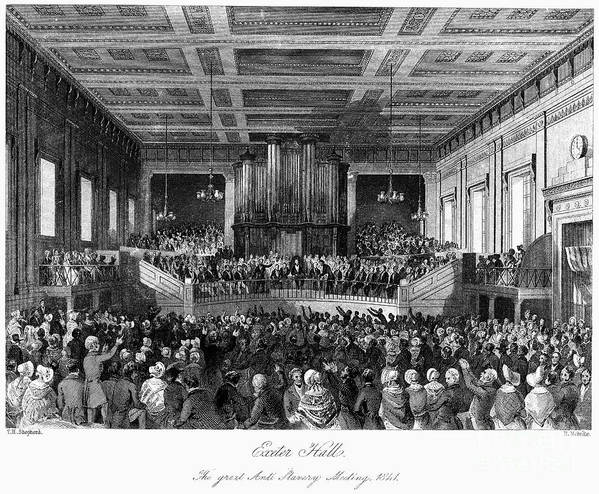 1840 Poster featuring the photograph Abolition Convention, 1840 by Granger