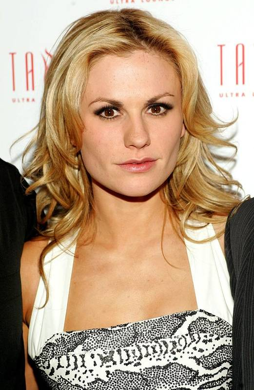 Anna Paquin Poster featuring the photograph Anna Paquin At Arrivals For Hbos True by Everett