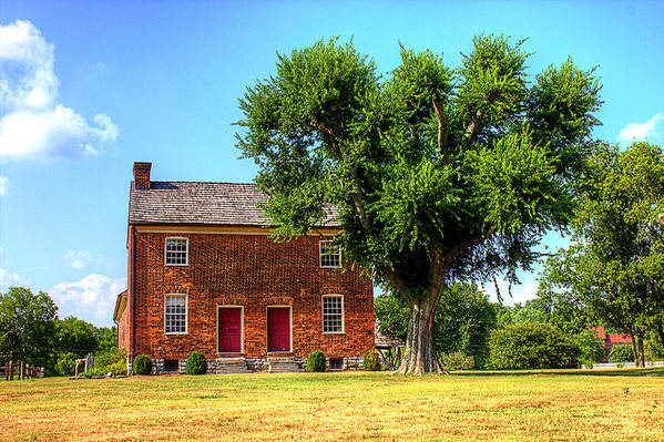 Historical Home Poster featuring the photograph Bowen Plantation House by Barry Jones