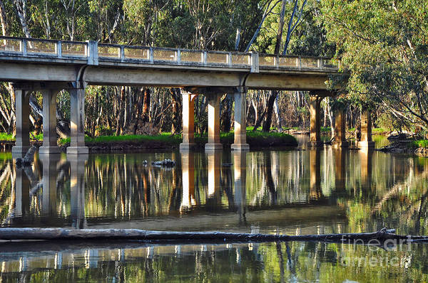 Photography Poster featuring the photograph Bridge Over Ovens River 2 by Kaye Menner