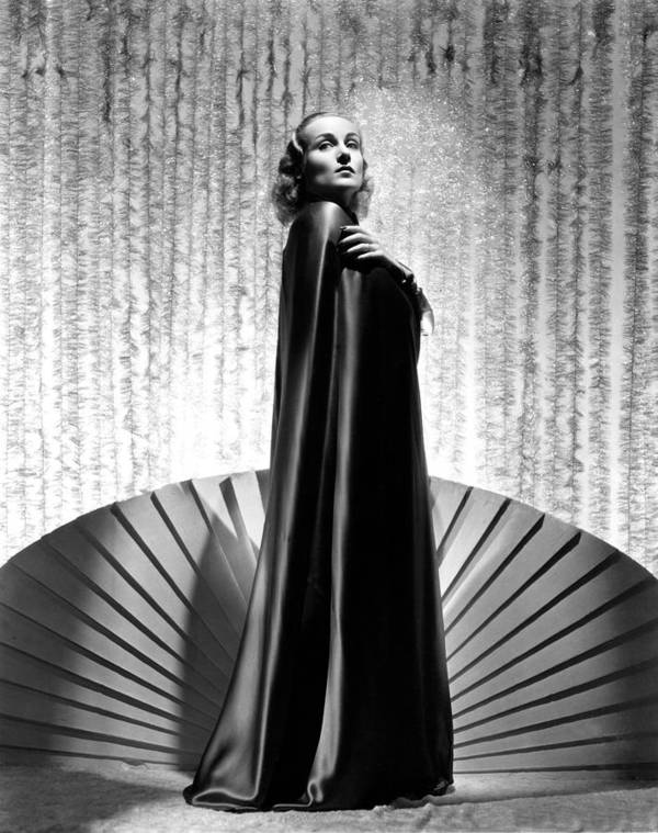 1930s Portraits Poster featuring the photograph Carole Lombard, 1936 by Everett