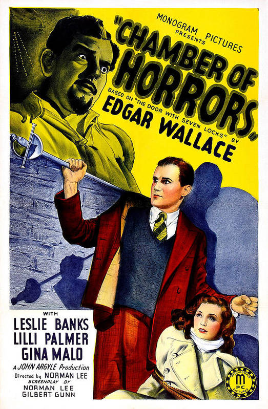 1940 Movies Poster featuring the photograph Chamber Of Horrors, Aka The Door With by Everett