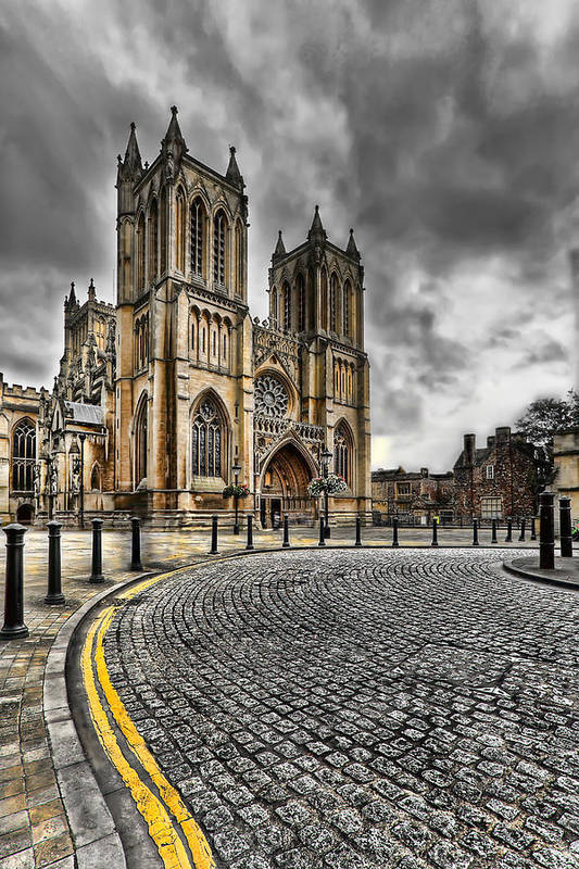 Hdr Poster featuring the photograph Church Of England by Adrian Evans