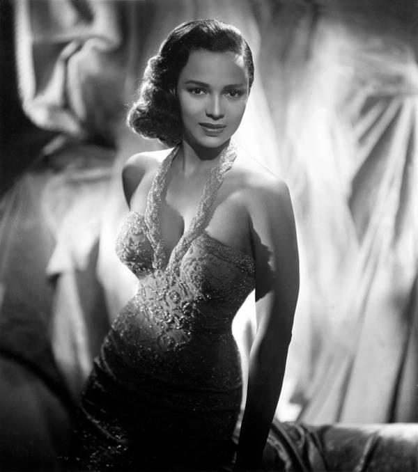 1950s Fashion Poster featuring the photograph Dorothy Dandridge, Circa 1959 by Everett
