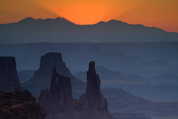 Mesa Arch Poster featuring the photograph Emerging Dawn by Andrew Soundarajan