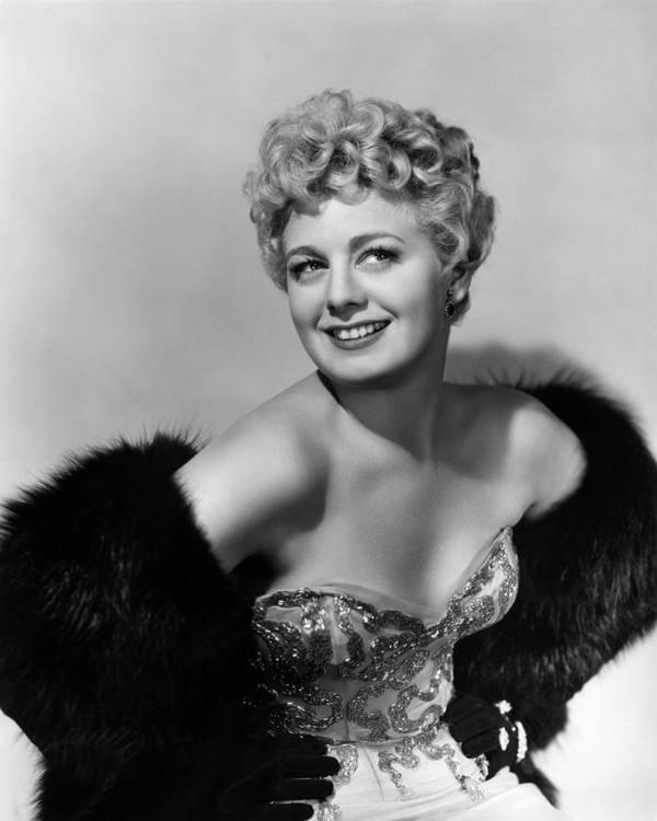 1950 Movies Poster featuring the photograph Frenchie, Shelley Winters, 1950 by Everett
