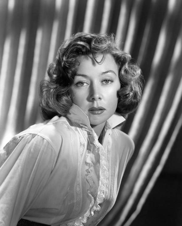 1950s Portraits Poster featuring the photograph Gloria Grahame, Ca. Early 1950s by Everett