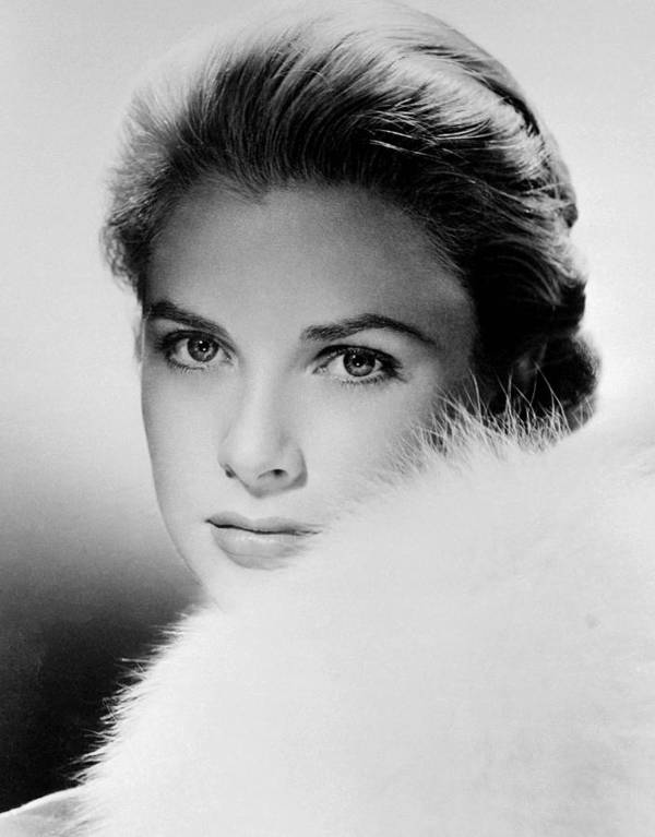 1950s Portraits Poster featuring the photograph Grace Kelly, Circa 1950s by Everett