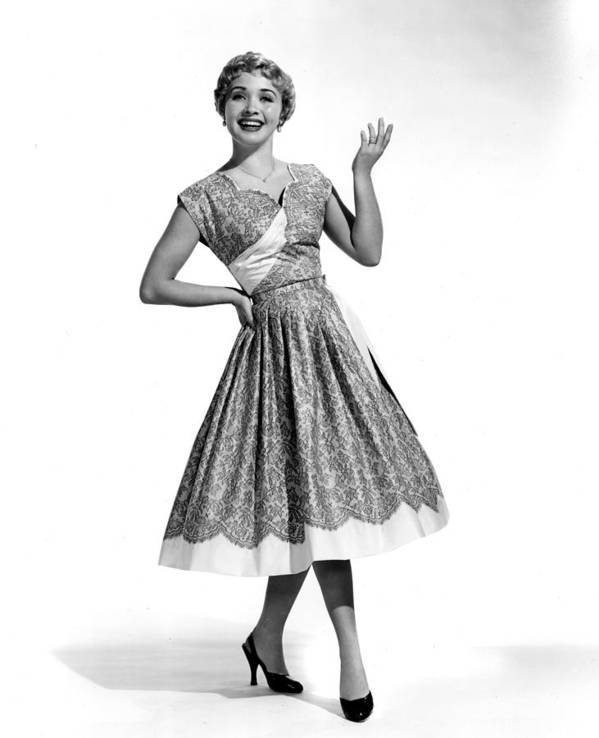 1950s Fashion Poster featuring the photograph Hit The Deck, Jane Powell, 1954 by Everett