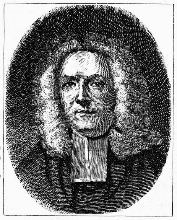 18th Century Poster featuring the photograph James Blair (1655-1743) by Granger