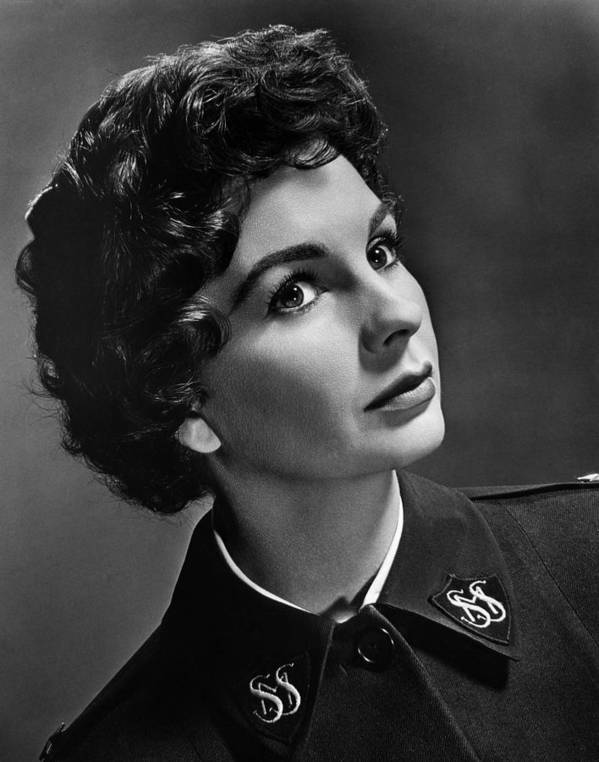 1950s Portraits Poster featuring the photograph Jean Simmons, Ca. 1950s by Everett