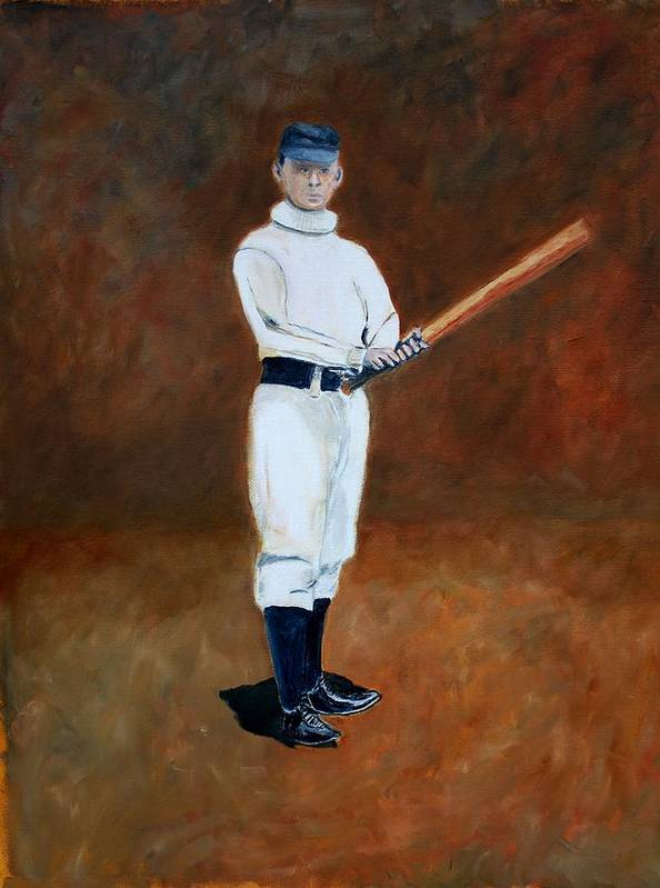 Baseball Poster featuring the painting John Mcgraw by Ralph LeCompte