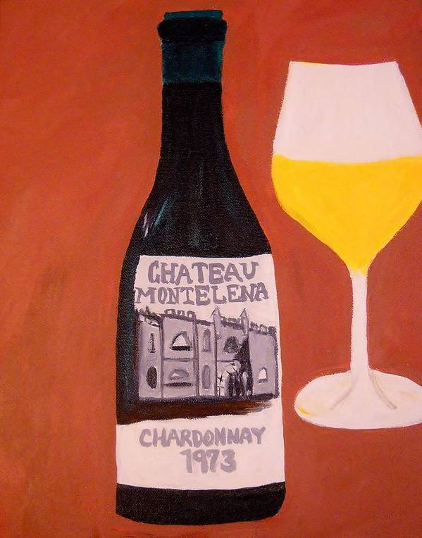 Wine Poster featuring the painting Judgement Of Paris 1 by Kathleen Fitzpatrick