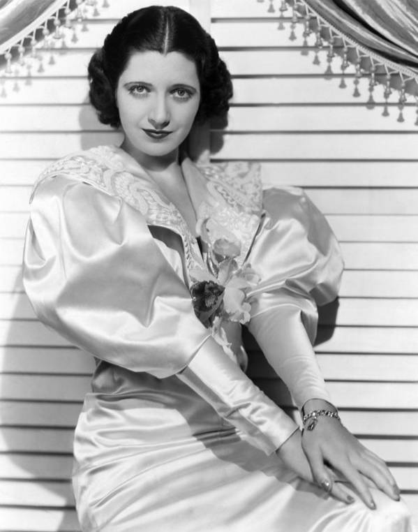 1930s Fashion Poster featuring the photograph Kay Francis, Ca. Mid-1930s by Everett