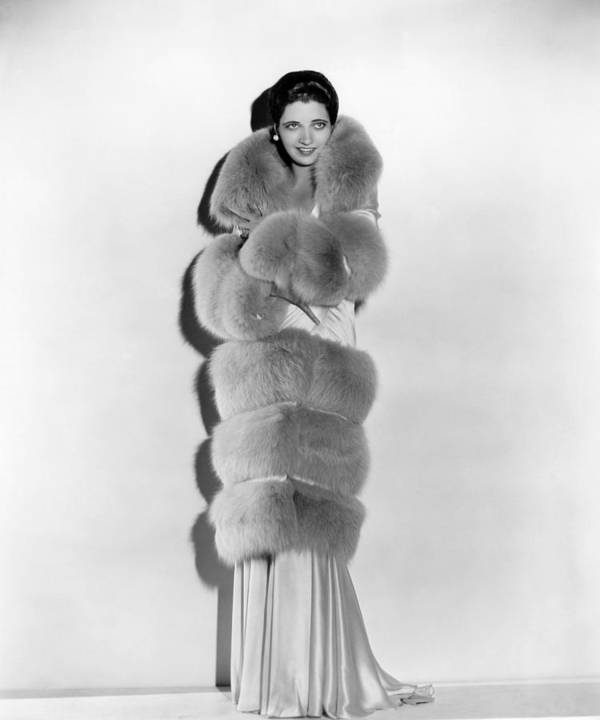 1930s Fashion Poster featuring the photograph Kay Francis, Circa 1930s by Everett