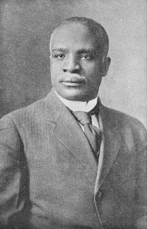 Kelly Miller Poster featuring the photograph Kelly Miller, Us Mathematician by Schomburg Center For Research In Black Culturenew York Public Library