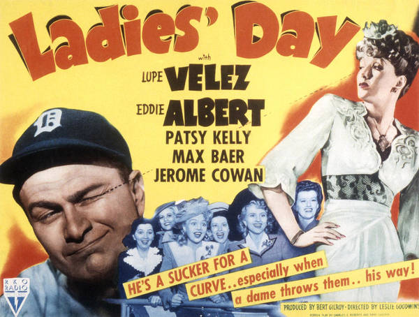 1940s Movies Poster featuring the photograph Ladies Day, Eddie Albert, Patsy Kelly by Everett