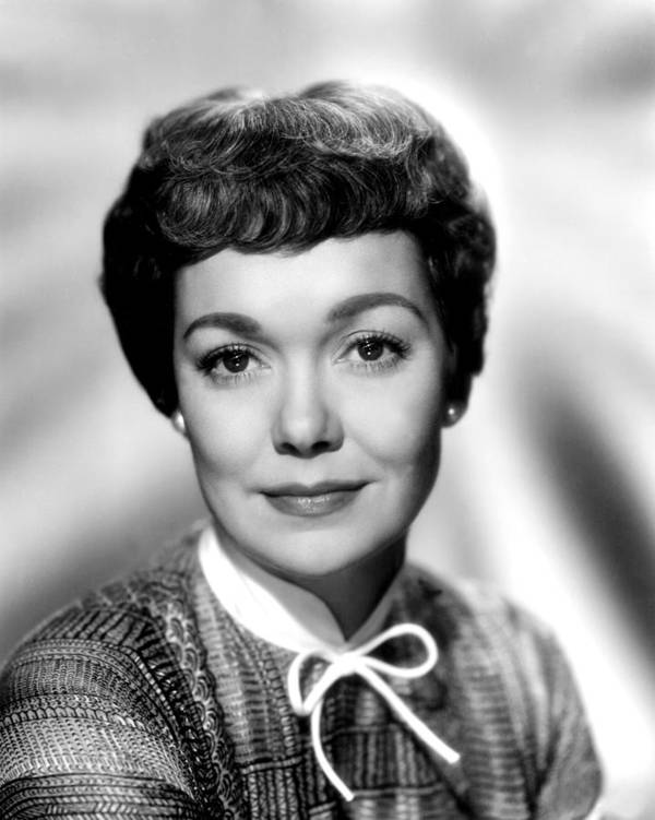 1940s Portraits Poster featuring the photograph Magnificent Obsession, Jane Wyman, 1954 by Everett