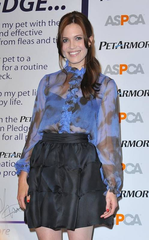 Mandy Moore Poster featuring the photograph Mandy Moore In Attendance For Aspca by Everett