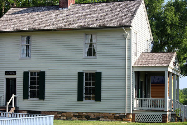 Appomattox Poster featuring the photograph Meeks Store Appomattox Court House Virginia by Teresa Mucha