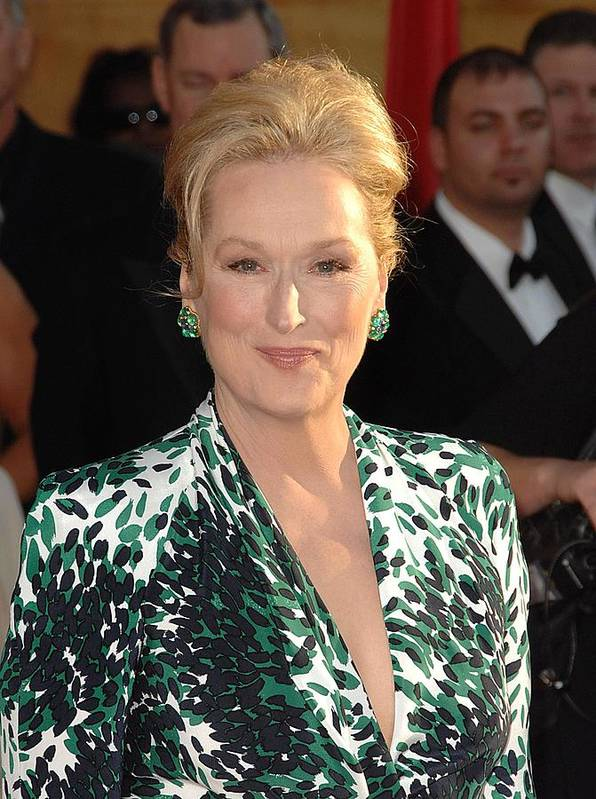 Meryl Streep Poster featuring the photograph Meryl Streep At Arrivals For 16th by Everett