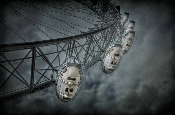 London Poster featuring the photograph More Then Meets The Eye by Evelina Kremsdorf