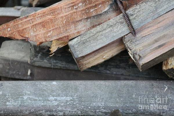 Wood Poster featuring the photograph Old Wood by Marilyn West