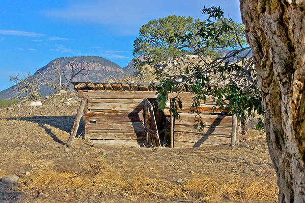 Historical Poster featuring the photograph Once Upon A Time In New Mexico by Kurt Gustafson