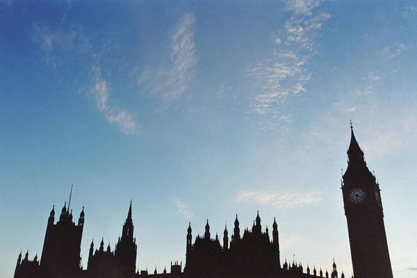 Horizontal Poster featuring the photograph Palace Of Westminster by Joseph Clark