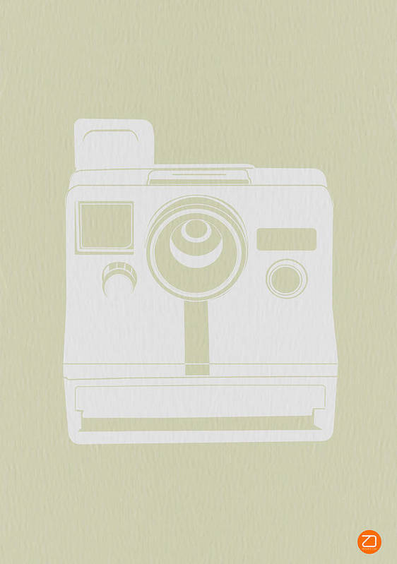 Poster featuring the photograph Polaroid Camera 2 by Naxart Studio
