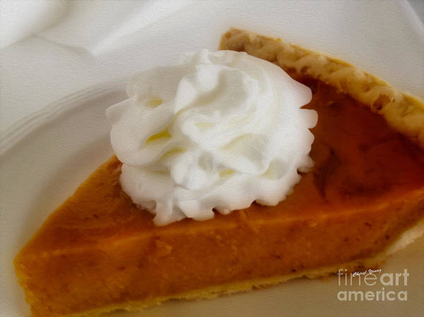 Pumpkin Pie Poster featuring the photograph Pumpkin Pie by Cheryl Young