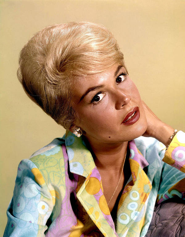 1960s Hairstyles Poster featuring the photograph Sandra Dee, Ca. Early 1960s by Everett