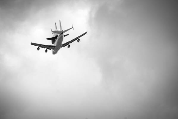 Space Shuttle Poster featuring the photograph Shuttle Enterprise Shuttlebutt by Anthony S Torres