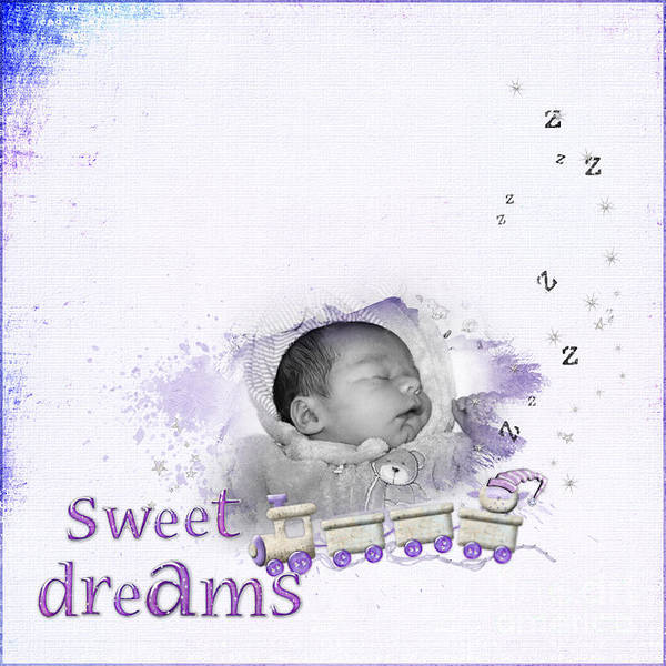 Sleep Photographs Poster featuring the photograph Sweet Dreams by Joanne Kocwin