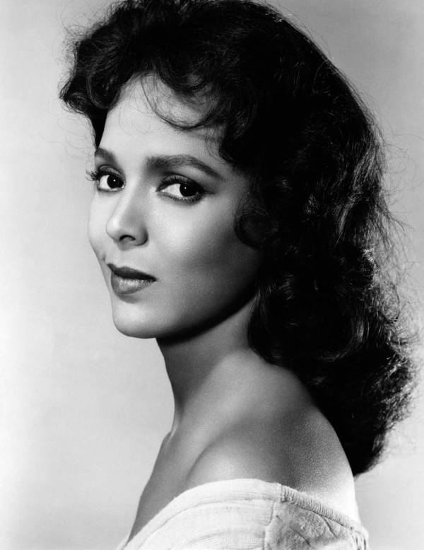 1950s Portraits Poster featuring the photograph The Decks Ran Red, Dorothy Dandridge by Everett