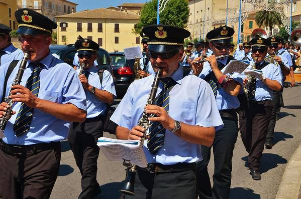 Music Poster featuring the photograph The Fanfare by Dany Lison