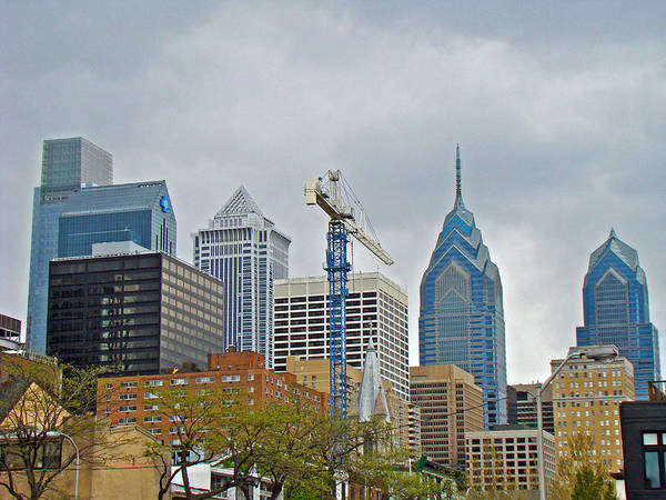 Philadelphia Poster featuring the photograph The Heart Of The City - Philadelphia Pennsylvania by Mother Nature