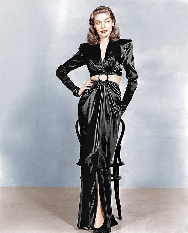 1940s Portraits Poster featuring the photograph To Have And Have Not, Lauren Bacall by Everett