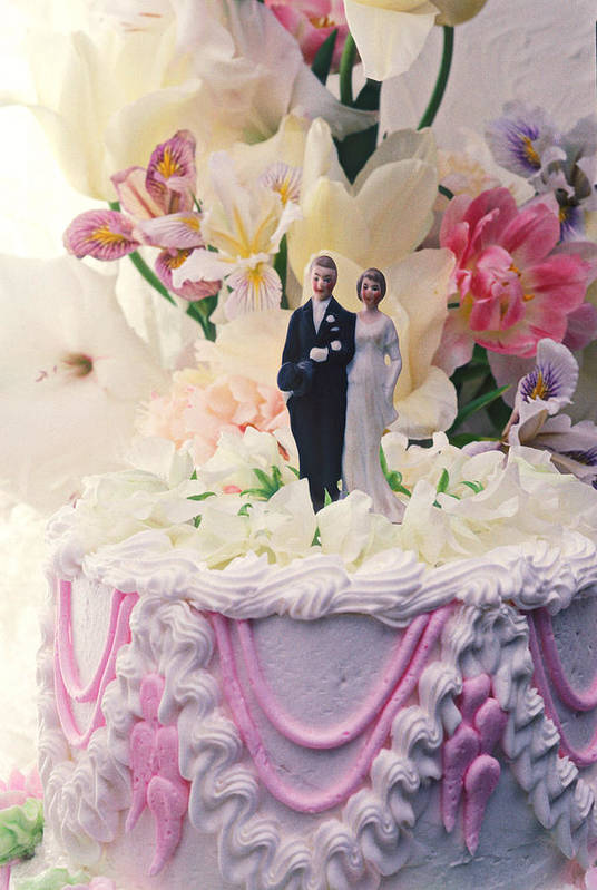 Wedding Poster featuring the photograph Wedding Cake by Garry Gay