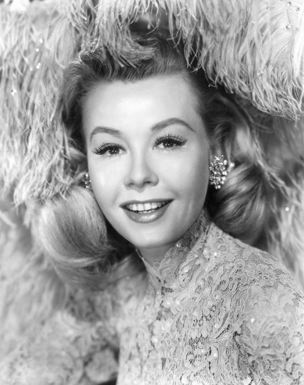 1950s Portraits Poster featuring the photograph White Christmas, Vera-ellen, 1954 by Everett