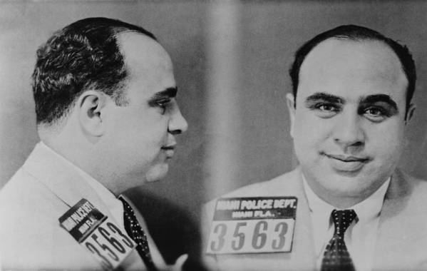 History Poster featuring the photograph Al Capone 1899-1847, Prohibition Era by Everett