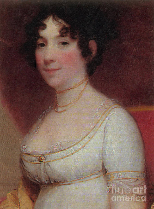 Dolley Payne Todd Madison Poster featuring the photograph Dolley Madison by Photo Researchers