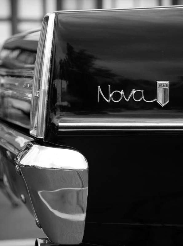 Chevy Poster featuring the photograph 1966 Chevy Nova II by Gordon Dean II