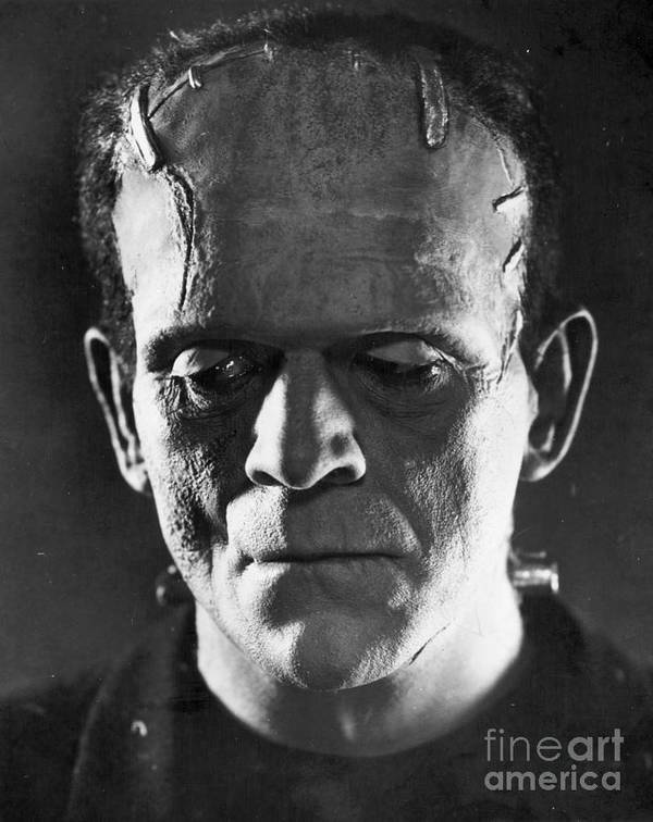 1931 Poster featuring the photograph Frankenstein, 1931 by Granger