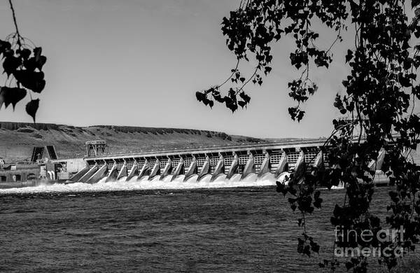 Dam Poster featuring the photograph Mcnary Dam by Robert Bales