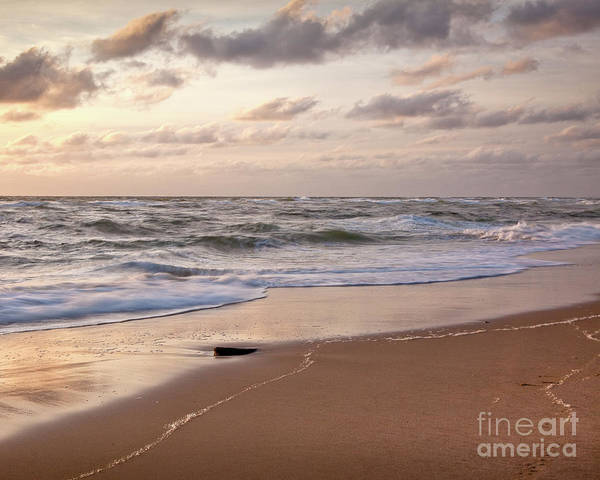 Barnstable County Poster featuring the photograph Cape Cod Sunrise 1 by Susan Cole Kelly