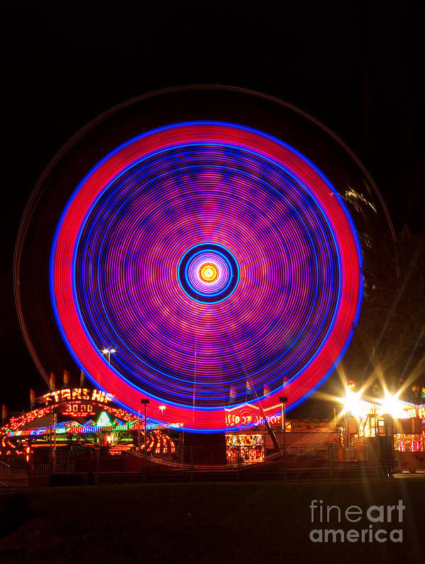 Carnival Images Poster featuring the photograph Carnival Hypnosis by James BO Insogna