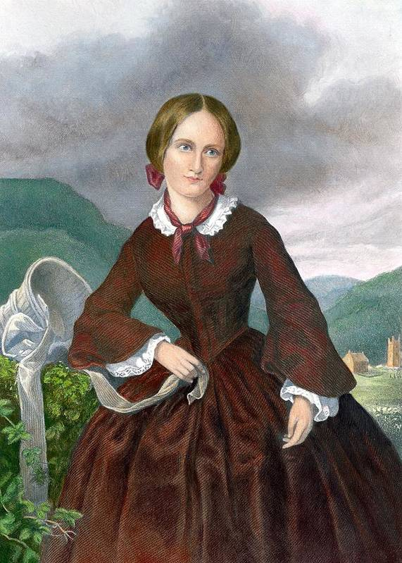 History Poster featuring the photograph Charlotte Bronte 1816-1855 English by Everett