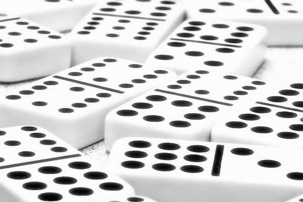 Dominoes I Poster by Tom Mc Nemar